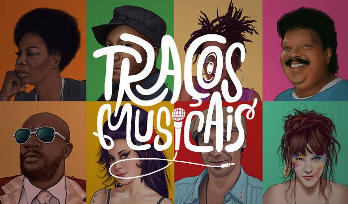 "Music + Illustration: ""traços Musicais"" By Martokos"