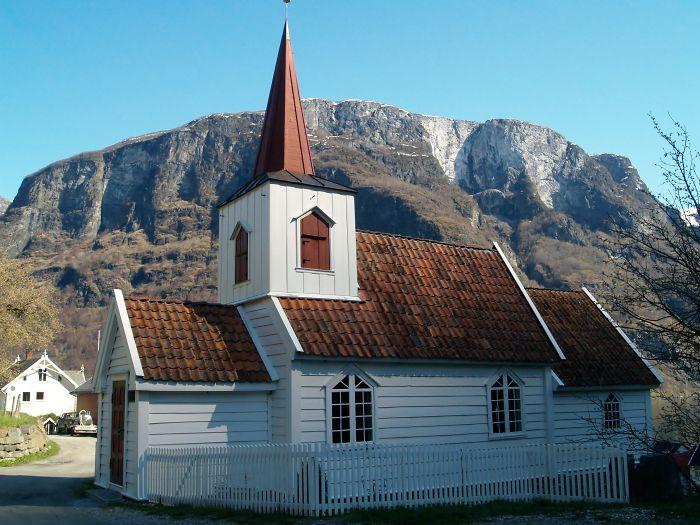 Smallest Church In Scandinavia, Undredal
