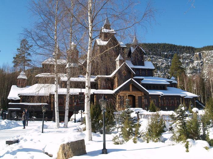 Fairy House In Hunderfossen, Lillehammer