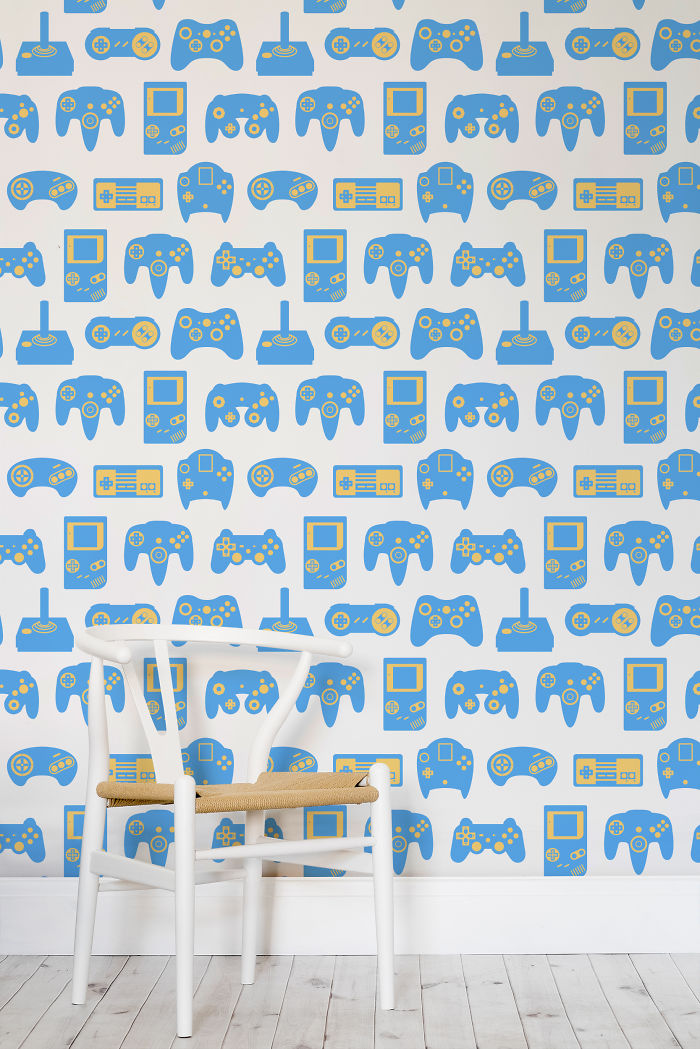 Retro Game Wall Murals That 1up Your Interior Decor