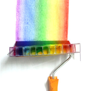 I Made A DIY Rainbow Roller Inspired By Nyan Cat