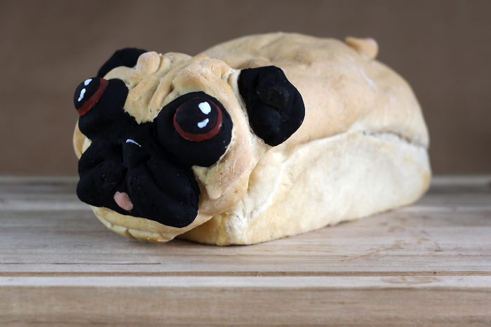 Someone Challenged Me To Make A Pugloaf. Challenge Accepted