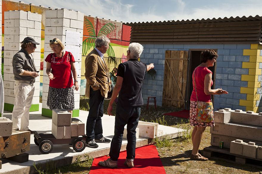 We Transform Disaster Debris Into Lego Building Blocks For A New Life
