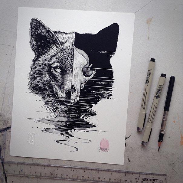 animal-skull-drawings-paul-jackson-7