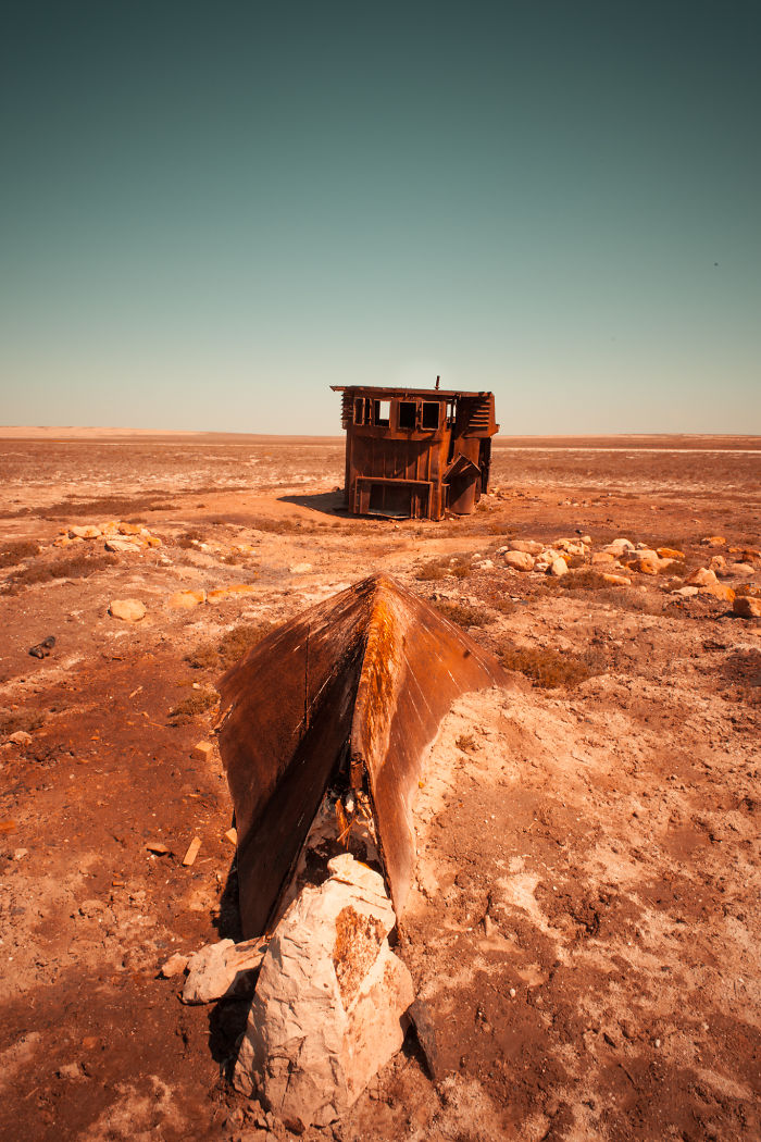 Eerie Ship Graveyards In The Aral Sea