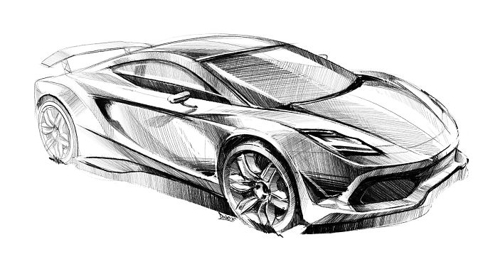 My New Car Sketches