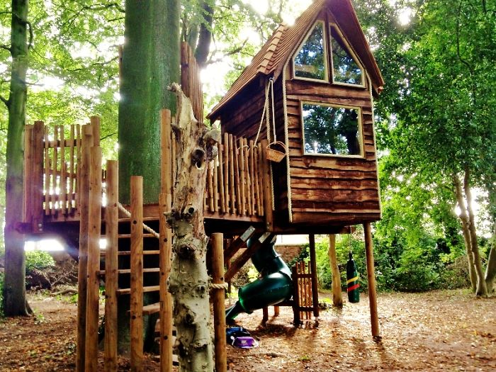 Bespoke Tree Houses To Inspire Young Adventurers