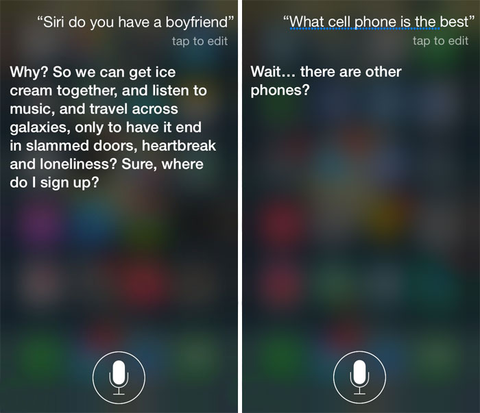54 Hilariously Honest Answers From Siri To Uncomfortable Questions You Can Ask, Too