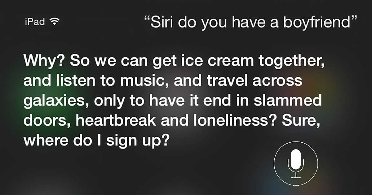 15+ Hilariously Honest Answers From Siri To Uncomfortable Questions You Can Ask, Too | Bored Panda