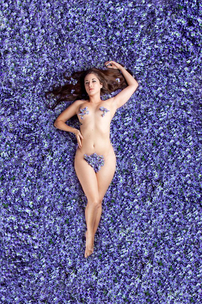 Scène nue beauté américaine