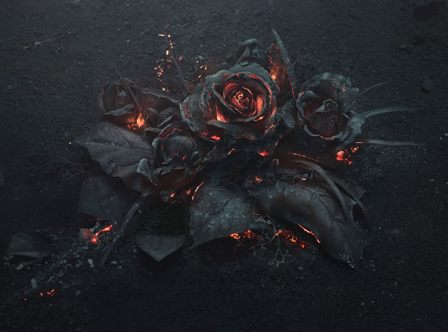 burning-roses-sculpure-the-ash-peter-jaworowski-1