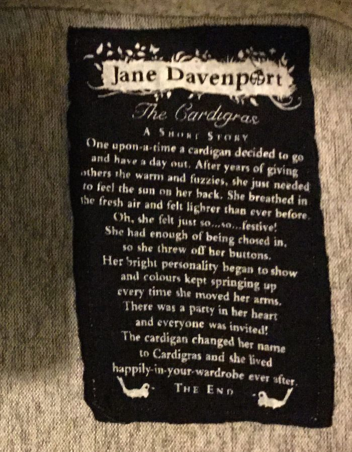 Jane Davenport Cardigras