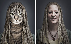 I Dress Cats As Their Owners