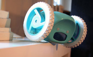 Clocky: Motorized Alarm Clock That Runs Away So You Can't Snooze