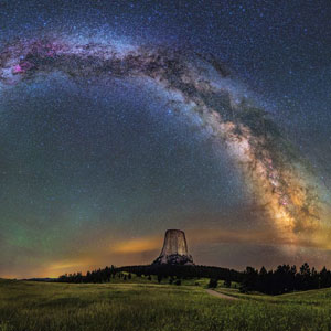 The Milky Way Over Yellowstone Will Take Your Breath Away