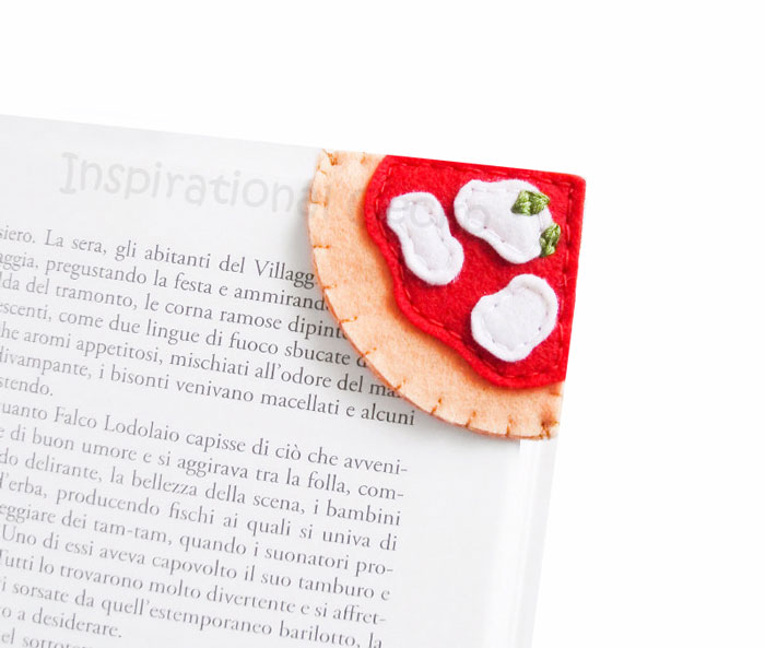 Designer Creates Tiny Bookmarks That Look Like Your Favorite Foods