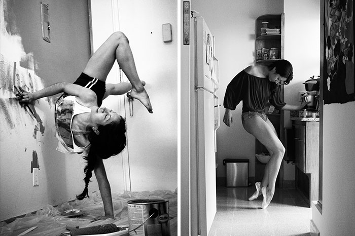 I Photograph Dancers In Their Own Homes