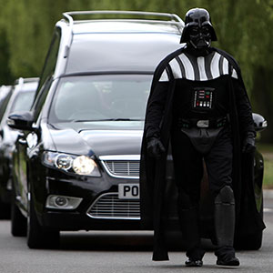 Darth Vader Leads Funeral For Badass Grandmother