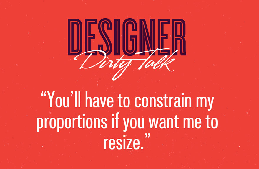 Designer Dirty Talk