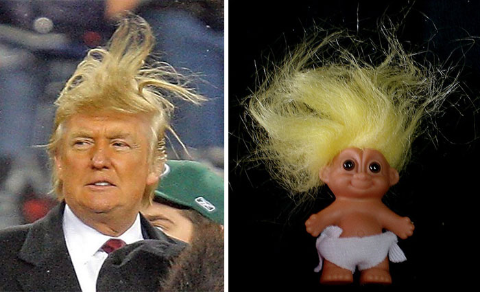 Donald Trump Looks Like A Troll Doll