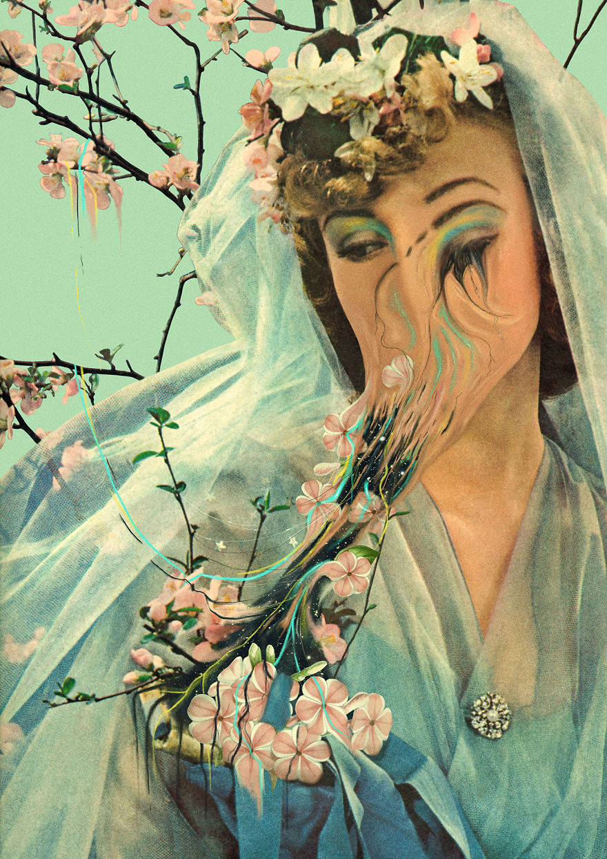 Traditional Art Goes Digital In These Surreal Collages