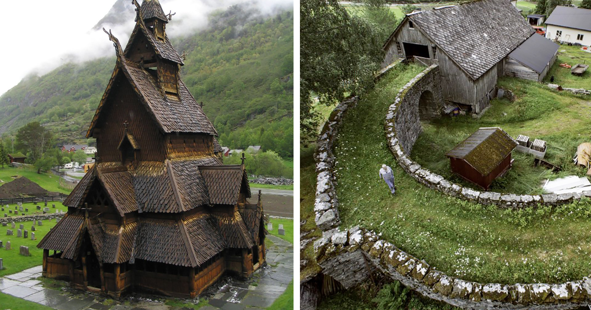 16+ Pics Of Fairy Tale Architecture From Norway