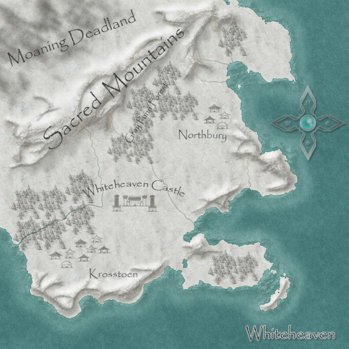 Fantasy Map Whiteheaven
