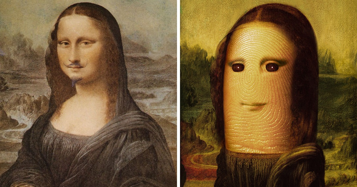 The Mona Lisa Reimagined By 300 Most Innovative Artists Bored Panda