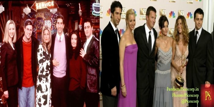 #then&now – You Will Feel Real Old Looking At Actors From Friends