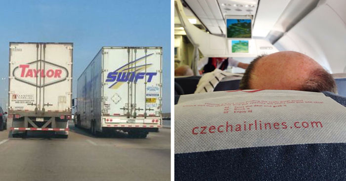 22 Funny Placement Coincidences That Tell A Different