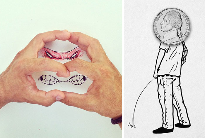 Crazy Yet Creative Illustrations By Alex Solis