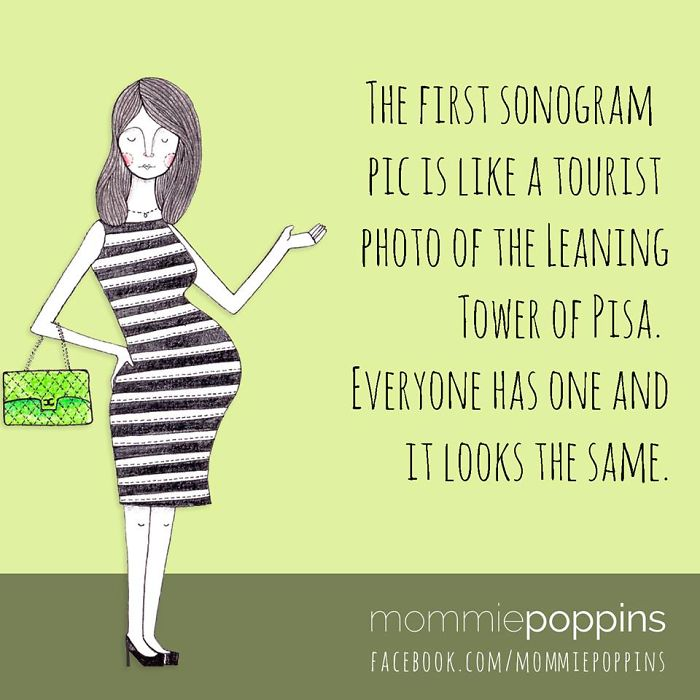 The First Sonogram Pictures