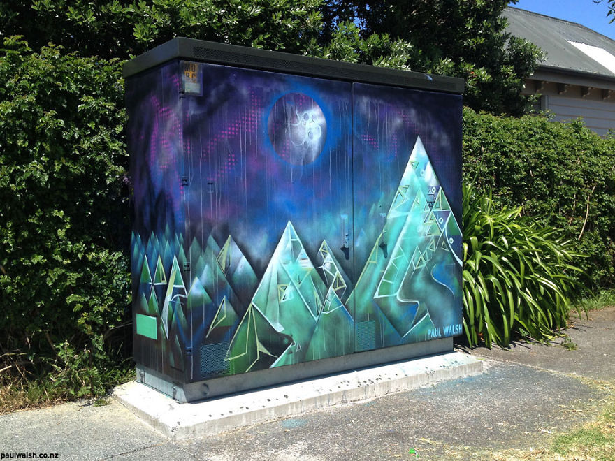 I Have Been Given Permission To Paint Utility Boxes In My