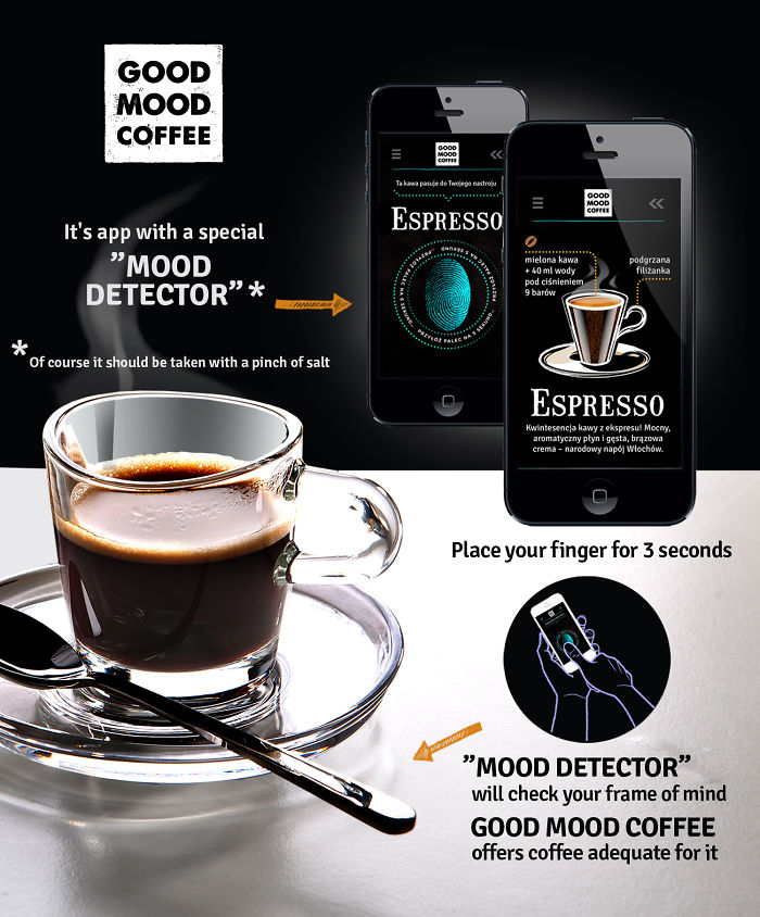 Good Mood Coffee – Free App With Mood Detector For All Coffeeholics