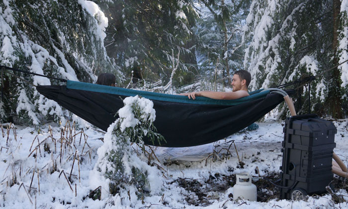 This Hot Tub Hammock Just Might Be The Most Relaxing Thing Ever