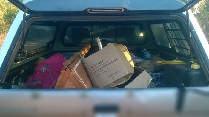Illegal Dumper Leaves ID In His Trash And Gets It Returned To His Front Yard