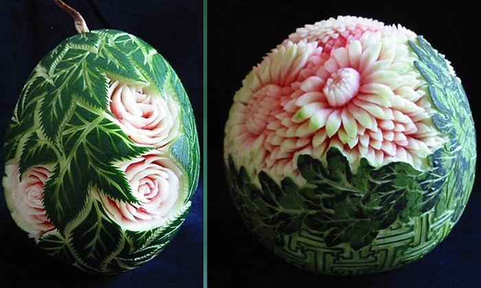 Impressive Watermelon Carving
