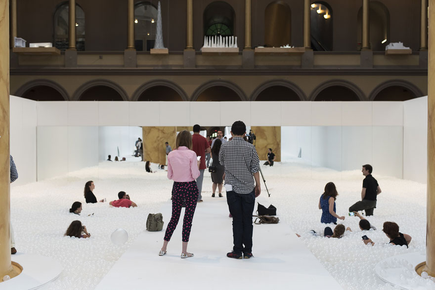 Swim In 1 000 000 Recyclable Plastic Balls At Installation