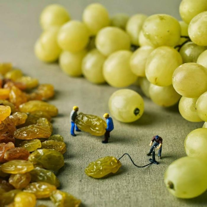 Deflated Grapes