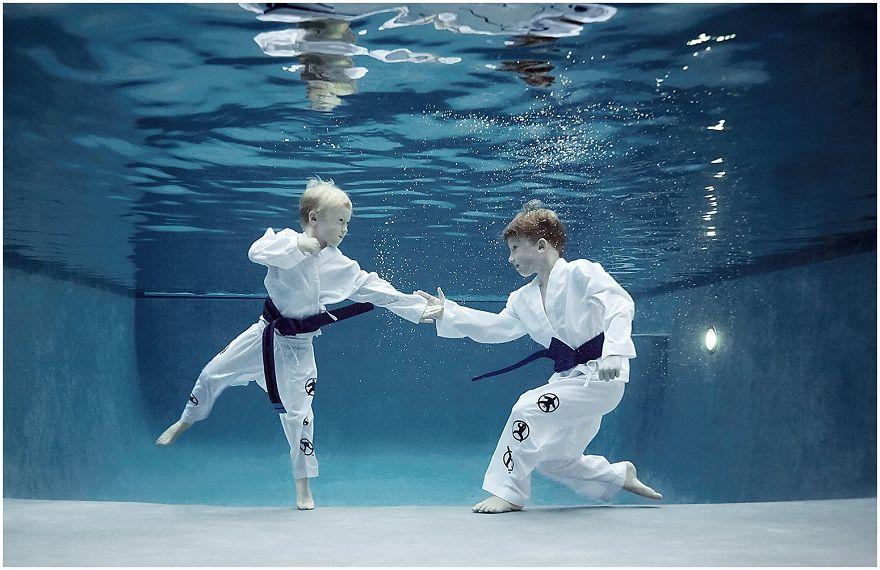 My favorite sport karate