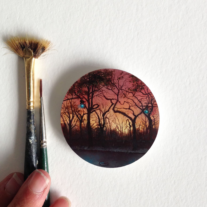 miniature-paintings-cycling-guide-to-lilliput-dina-brodsky-3