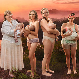 Women In The Wild: Mothers Tell Their Breastfeeding Stories To Encourage Others