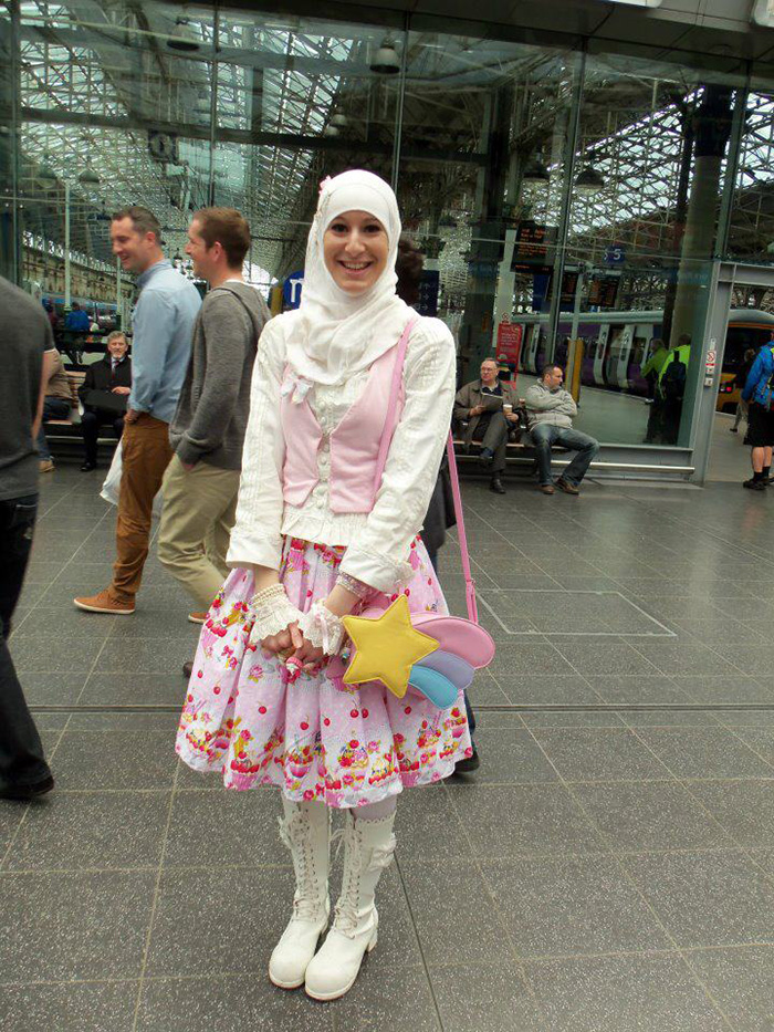 Muslim Lolita Hijab Japanese Fashion Anime 24