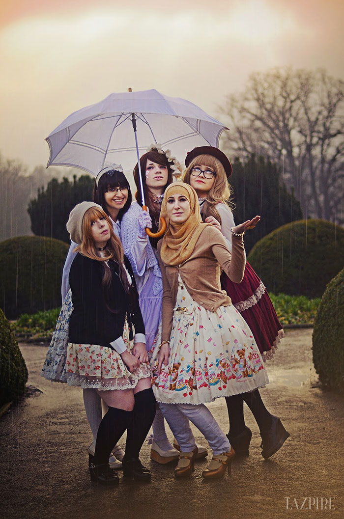 Muslim Lolita Hijab Japanese Fashion Anime 34