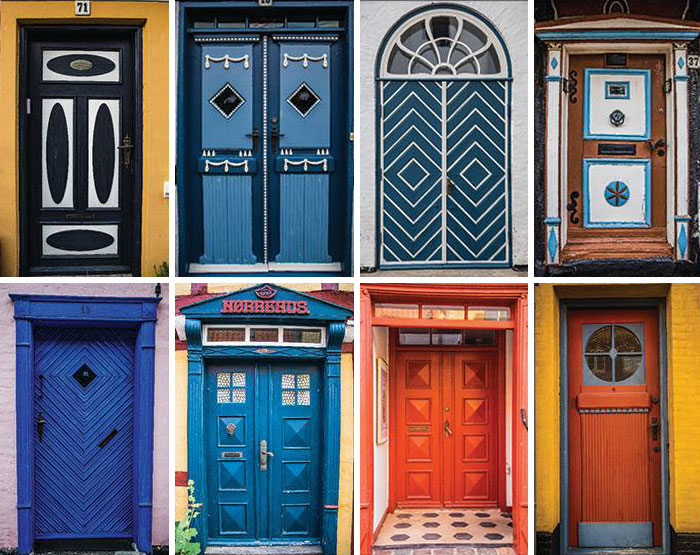 From Door To Door: My Collection Of Colorful Doors In Ærøskøbing