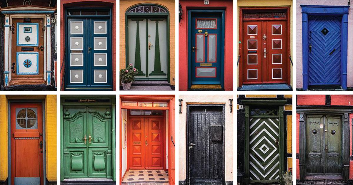 From Door To Door My Collection Of Colorful Doors In Ærøskøbing | Bored Panda & From Door To Door: My Collection Of Colorful Doors In Ærøskøbing ...