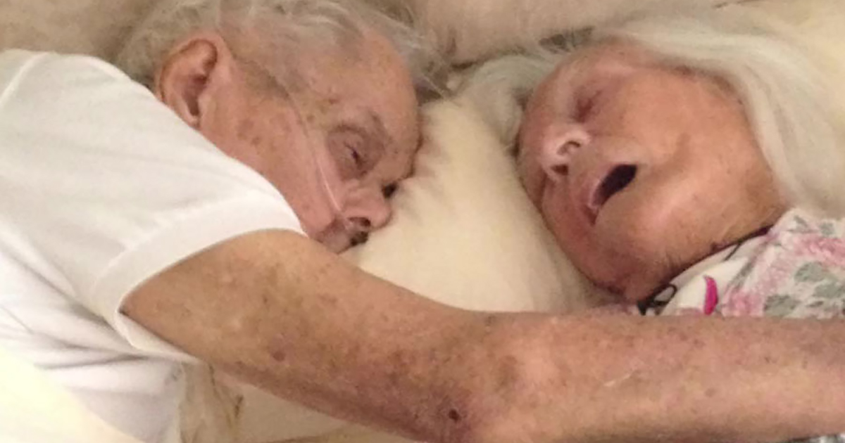 After 75 Years Of Marriage, This Couple Died In Each Others' Arms Hours Apart