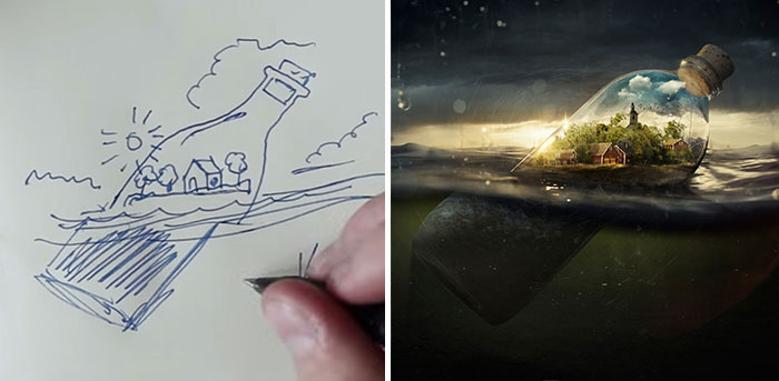 Photoshop Genius Erik Johansson Shows How His Mind-Bending Pics Are Born