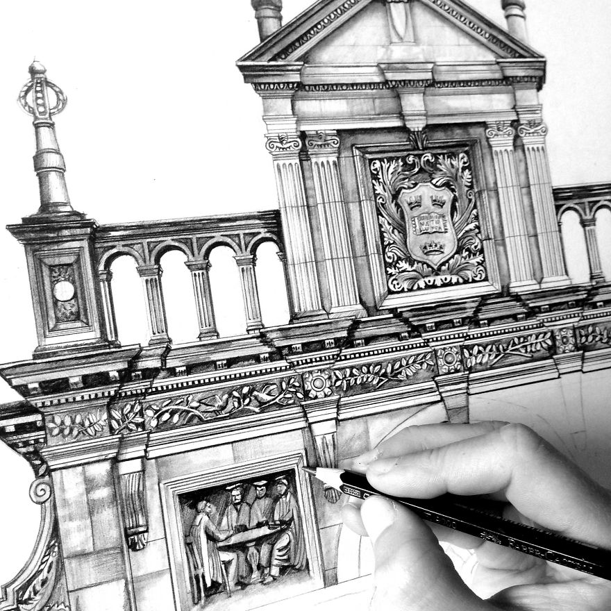 Plain Architecture Drawing Pencil Find This Pin And More On A