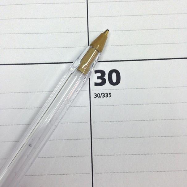 I Finished My Pen